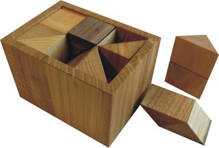 Blocked Half-Cube Box