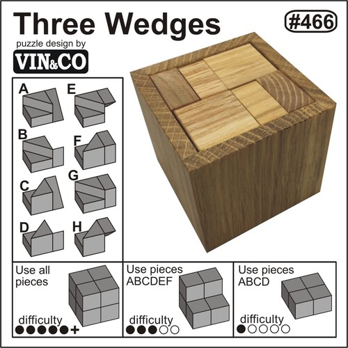 Three wedges