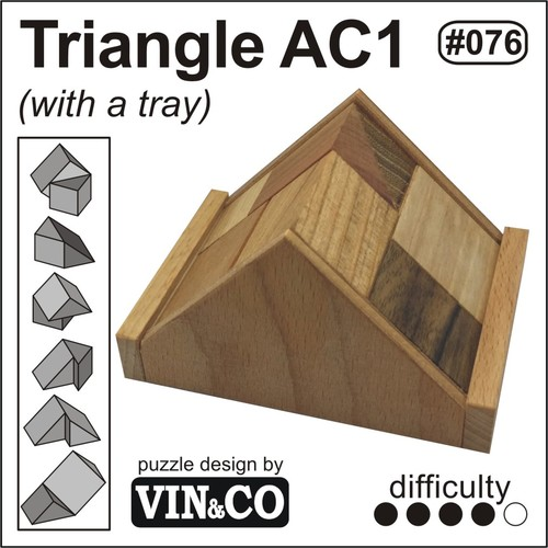 Triangle AC1 (with a tray)